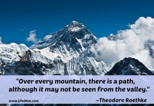 Everest Mountain Peak - the top of the world (8848 m)
